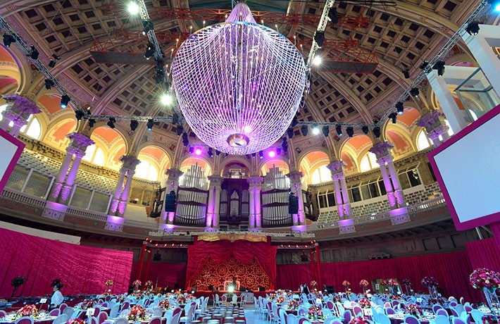 Casamento india em MNAC Barcelona