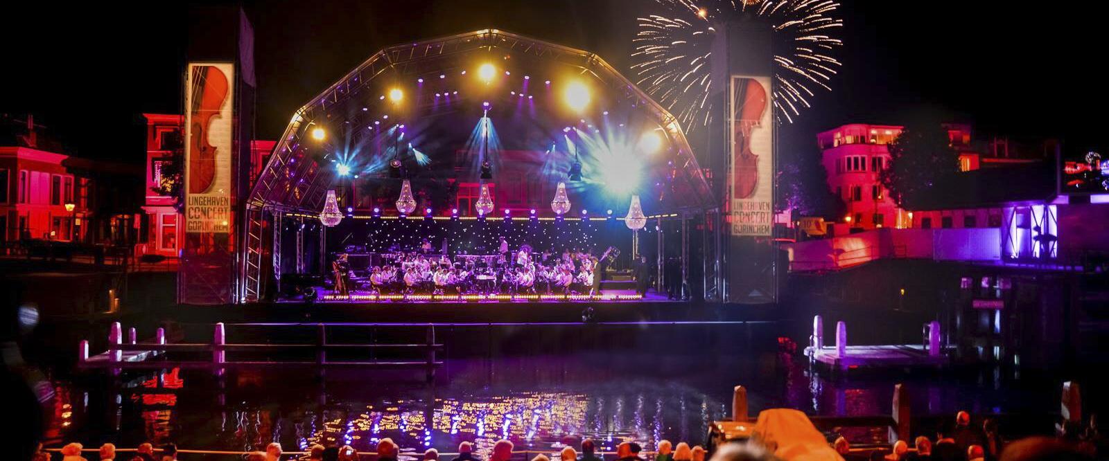 Iluminacion concierto classique