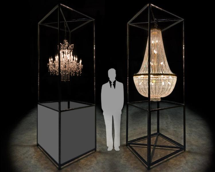 Estruturas para luminárias
