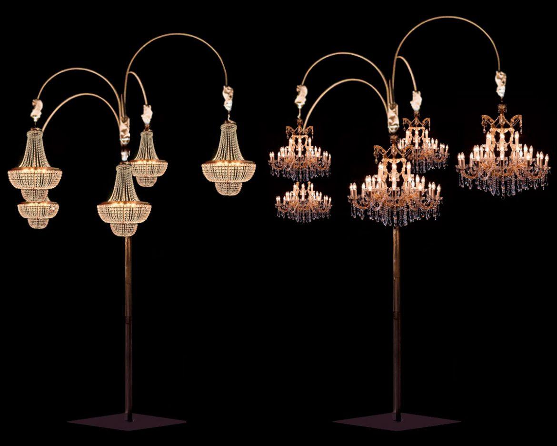 Estrutura de árvore para as lâmpadas